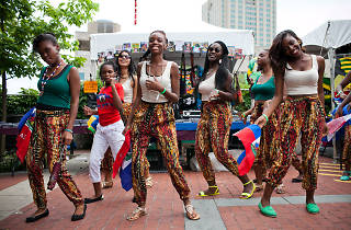 The PECO Multicultural Series at Penn's Landing includes the Hispanic Fiesta, the Irish Festival, Brazilian Day Philadelphia and the Islamic Heritage Festival.