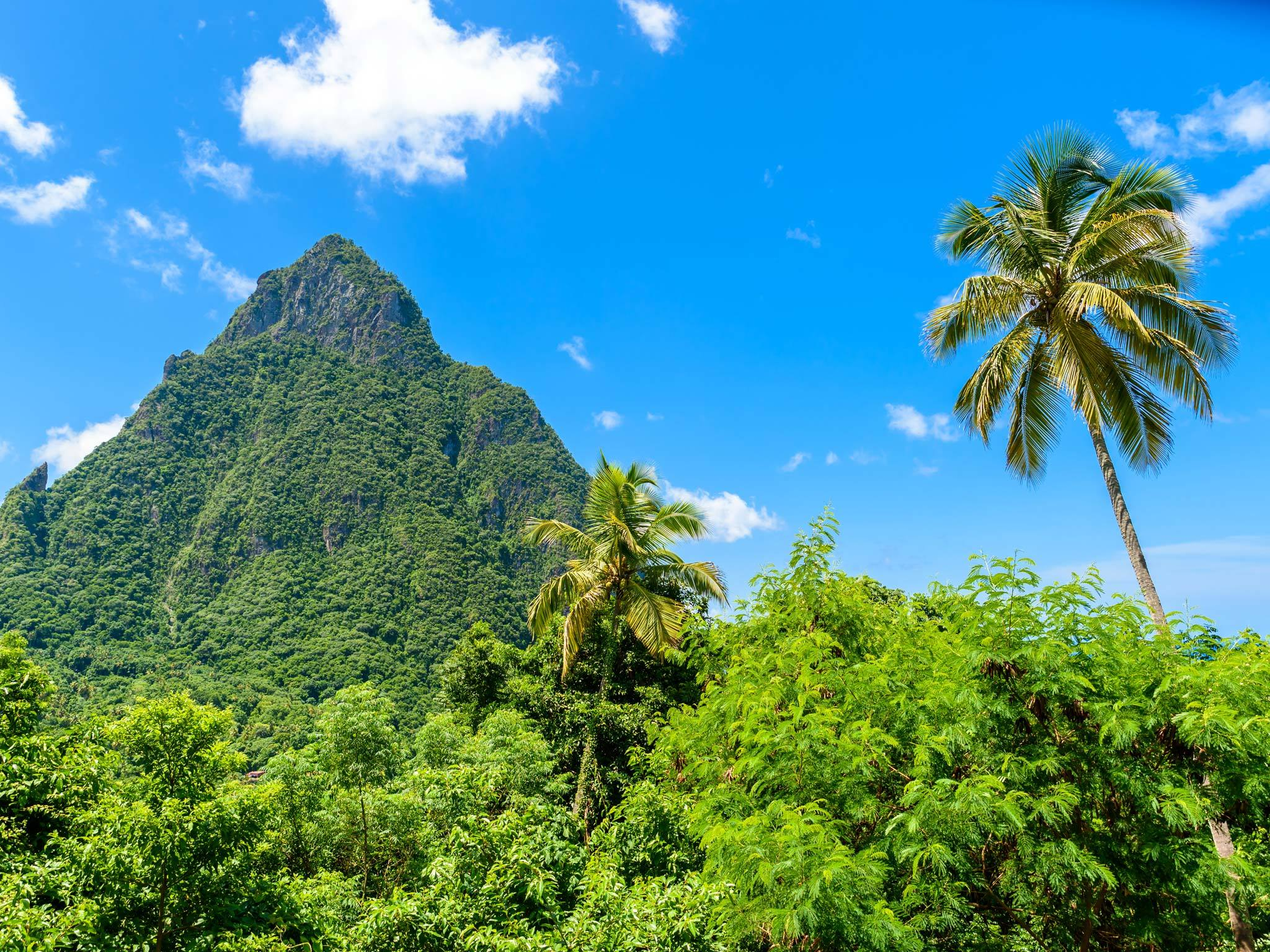 Gros Piton in St Lucia