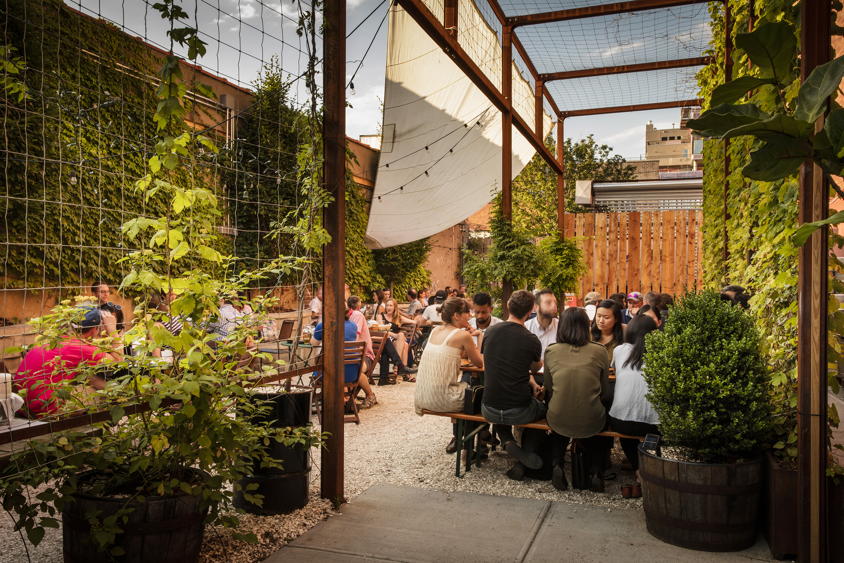 30 Best Outdoor Bars in NYC to Visit this Summer