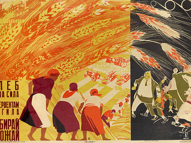 """Constructing Revolution: Soviet Propaganda Posters from Between the World Wars"""