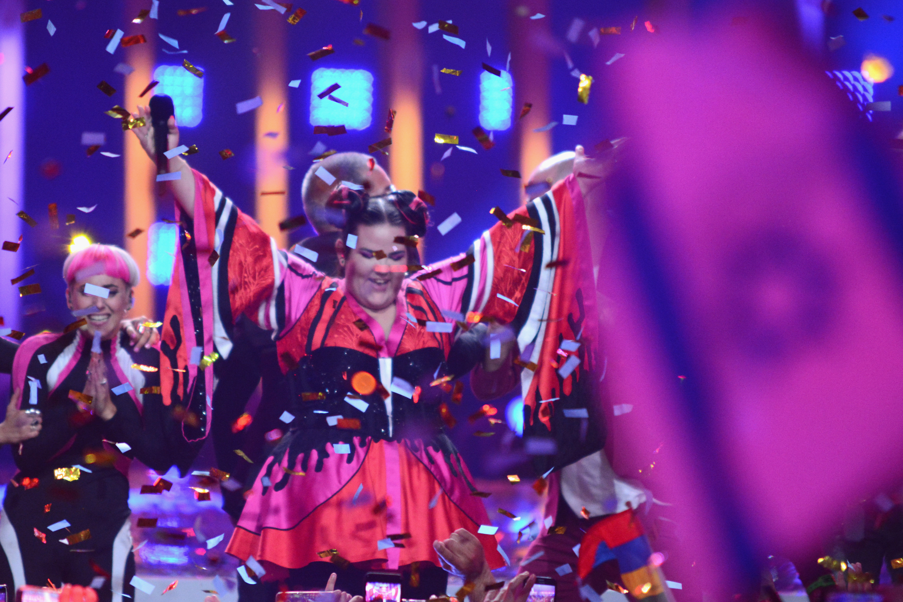 Israel for the win: Netta Barzilai takes the 2018 Eurovision title