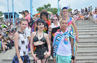 The Philadelphia Pride Festival happens at Penn's Landing after the Pride Parade.