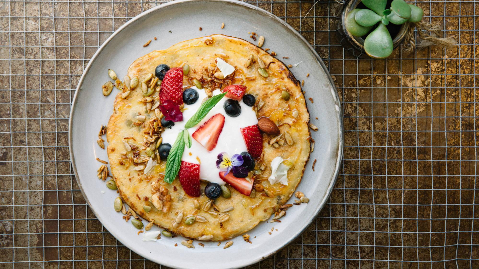 Gratia berries pancake