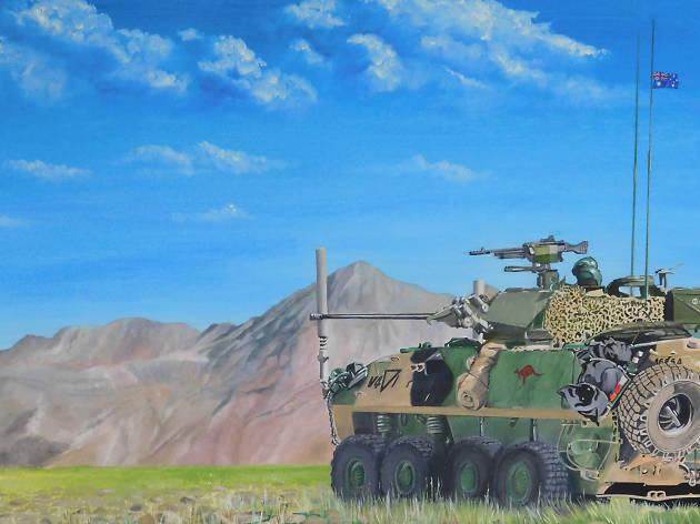 Robert Milton, Military Artist