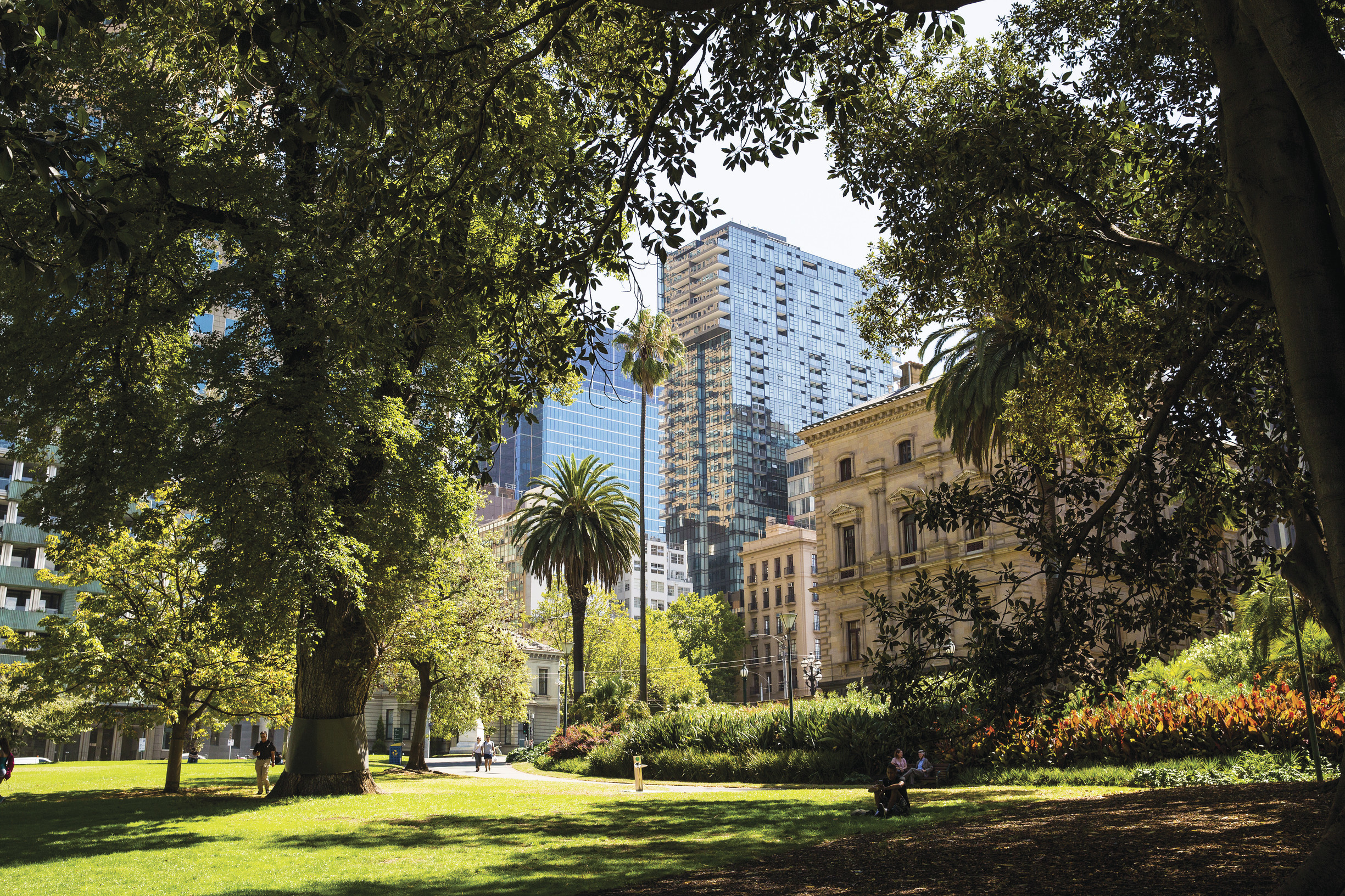 Treasury Gardens, East Melbourne, Melbourne