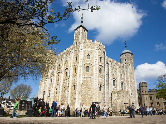 do not reuse - The White Tower, Tower of London - for Premier Inn