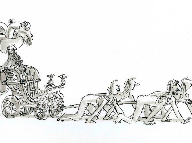 Quentin Blake: 'Voyages to the Moon and to the Sun'