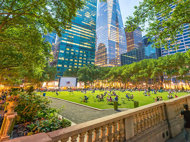 The best free things you can do in Bryant Park