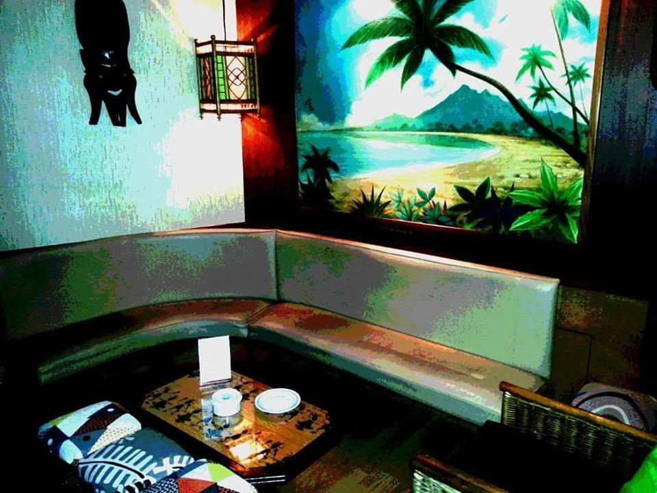Os cocktails exóticos são uma das atracções.
