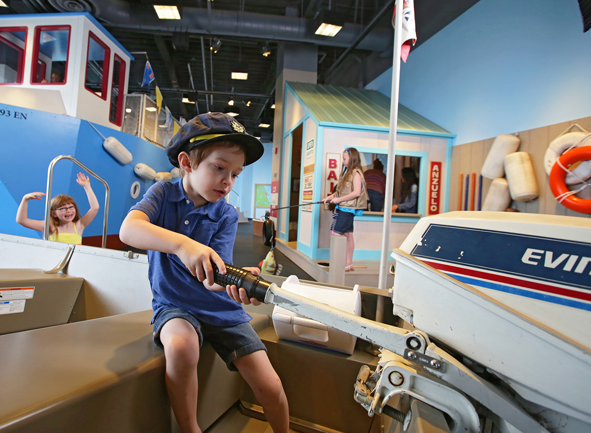 'Boats' at Chicago Children's Museum