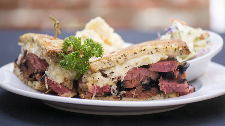 Pastrami on rye at Factor's Famous Deli