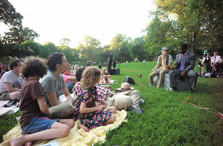 Catch live theater every summer at Shakespeare in Clark Park.