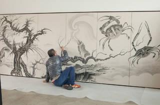 (Sun Xun, Invisible Magic, 2018, image courtesy the artist, photograph: Deng Jing)