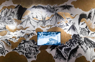 """(Sun Xun, The """"Dao"""" of a Bat (detail), 2015, installation view, image courtesy the artist)"""