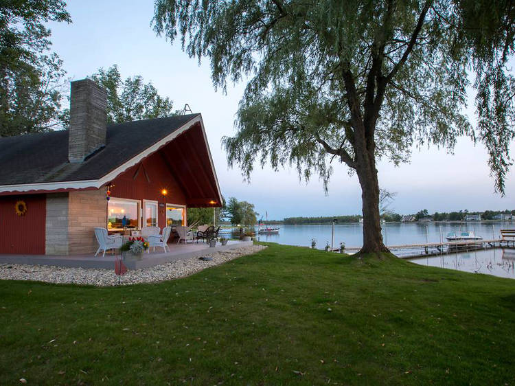 Chalet on the Shore in Sturgeon Bay, WI