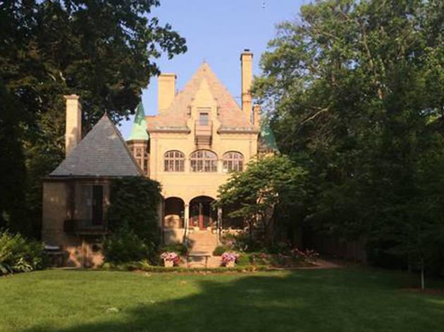 Fairytale Castle on Lake Michigan in Milwaukee, WI