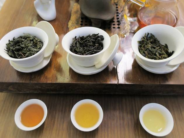 Tea tasting at Tea Drunk