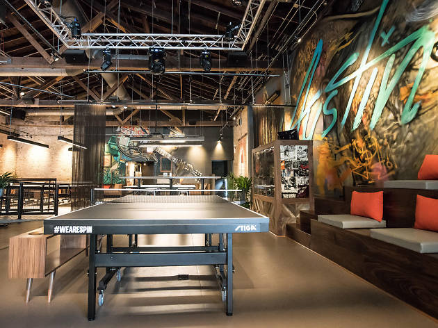 Ping pong club SPiN opens downtown