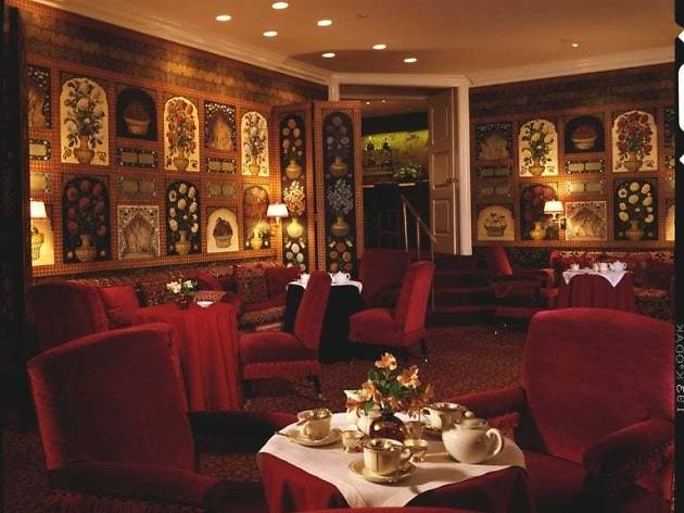 Tea service at The Carlyle