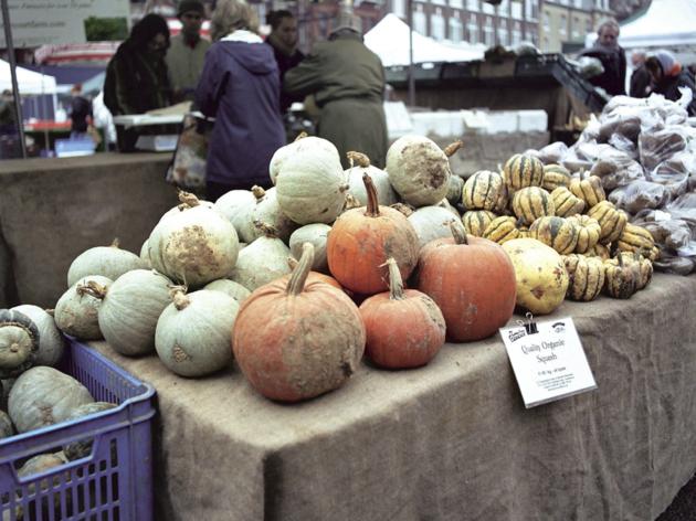 Vegetables at Marylebone Market