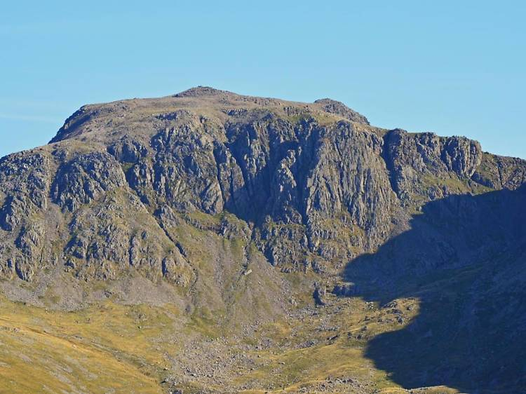 Climb the highest point in England, Scafell Pike