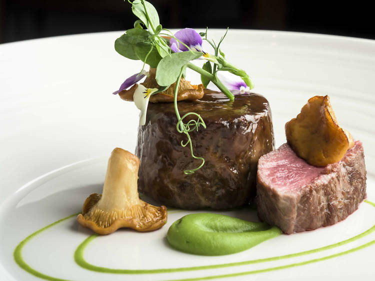 Tuck into a locally-sourced meal at Old Stamp House