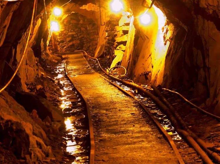 See the last working mine in England