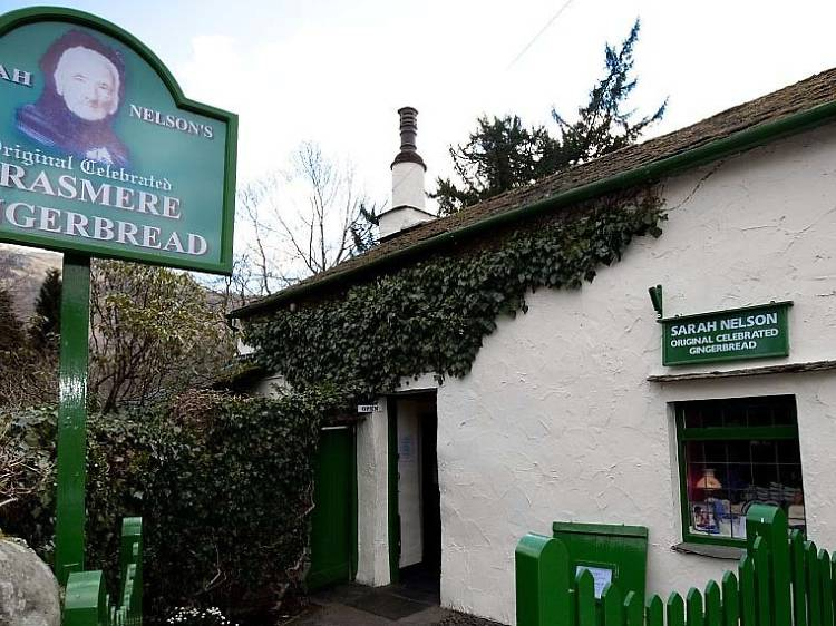 Pig out on Grasmere Gingerbread