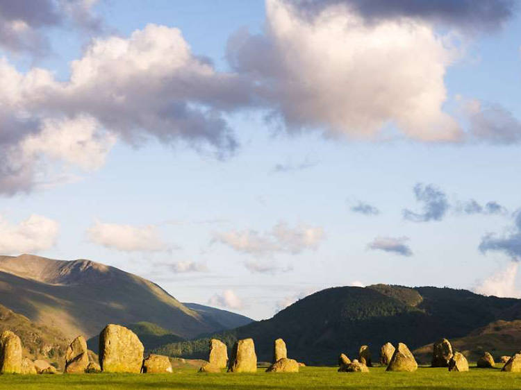 Hike to the Castlerigg Stone Circle