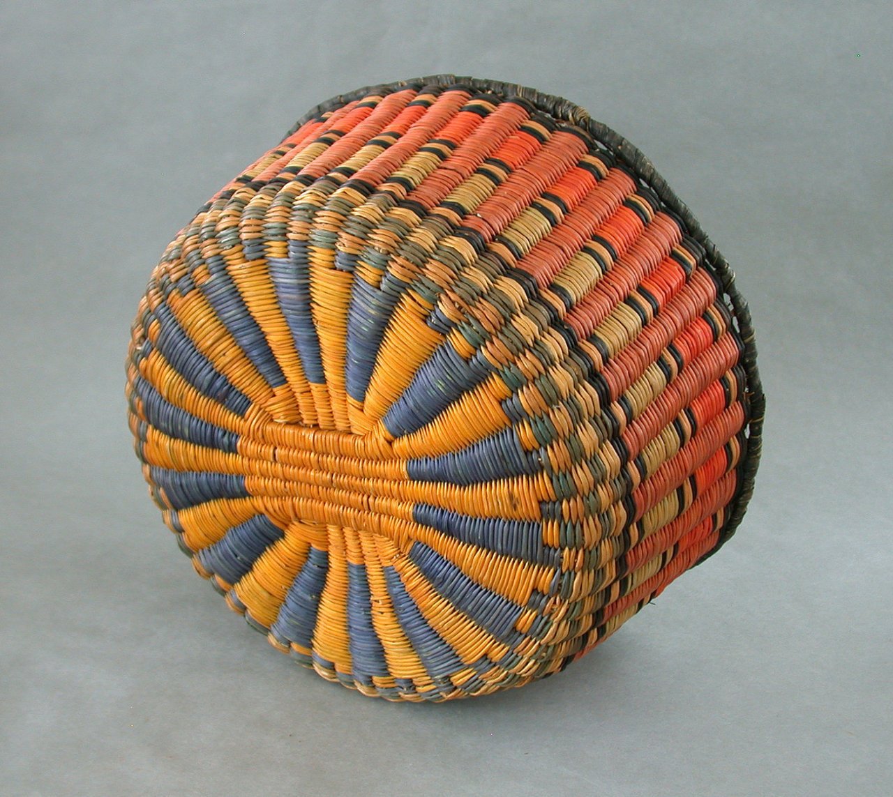 Hopi basket weaving