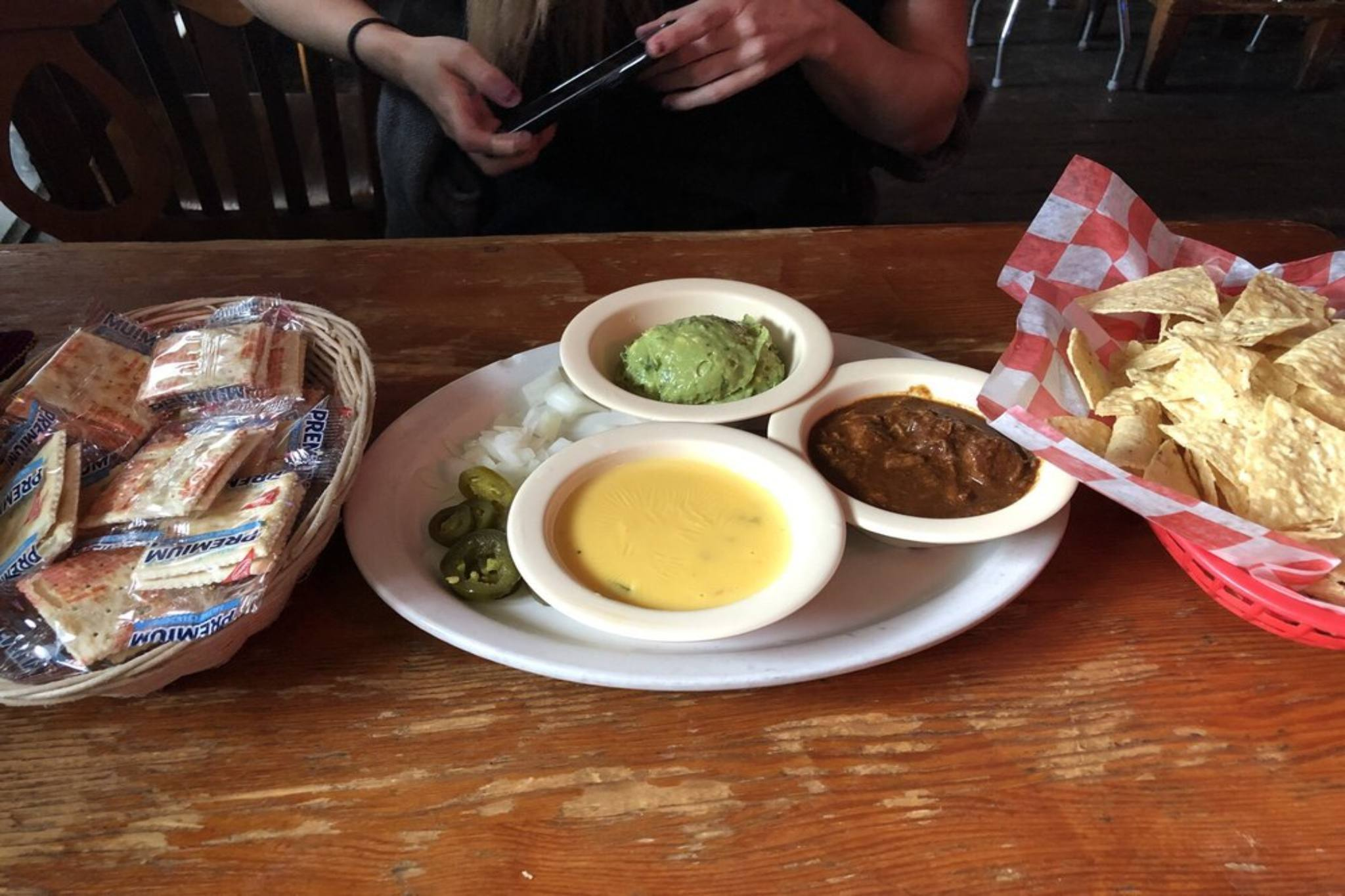 Texas Chili Parlor queso