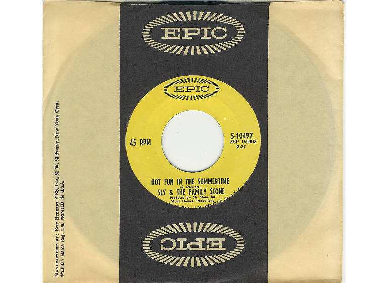 """""""Hot Fun in the Summertime"""" by Sly and the Family Stone"""