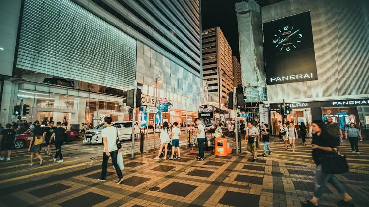 Tsim Sha Tsui street shot