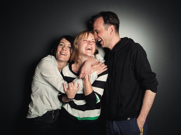 Anna Alarcón, Mima Riera i Iván Morales