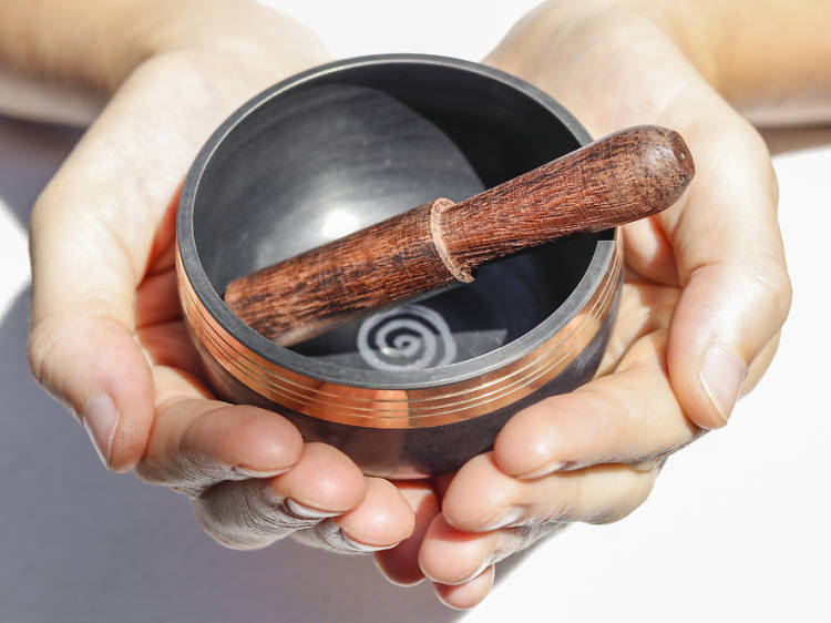 Soothe your mind with a sound bath