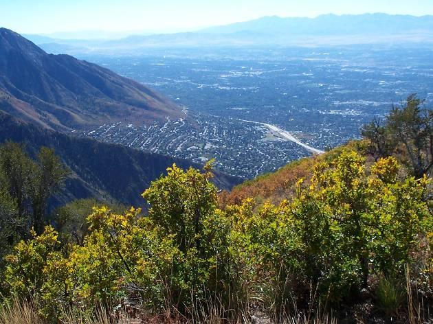 View from Grandeur Peak
