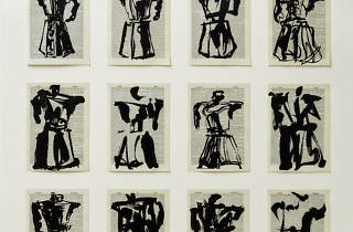 Arthur Ross Gallery exhibits sketches by William Kentridge.