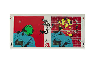 David Wojnarowicz, Untitled (Green Head), 1982