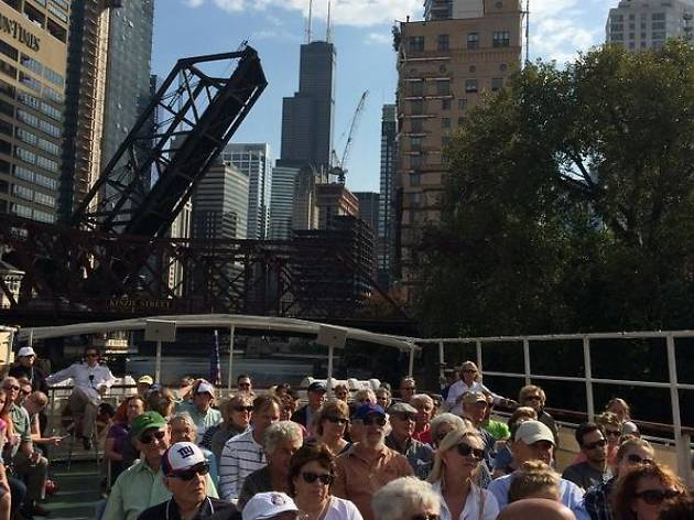 Chicago Architectural River Cruise (90-minute)