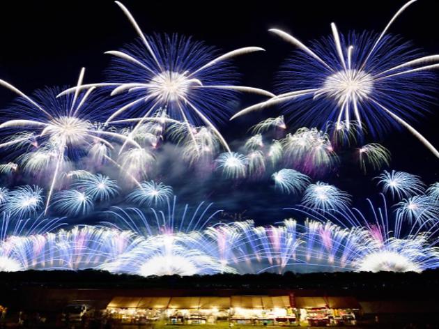 Tokyo Fireworks Festival: Edomode