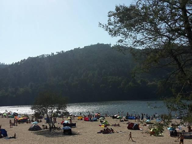 Praia Fluvial da Lomba