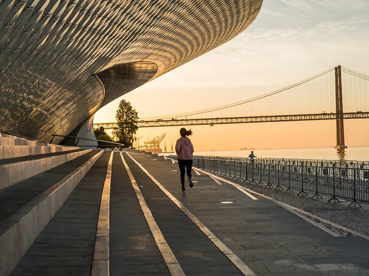 Os melhores sítios para correr em Lisboa