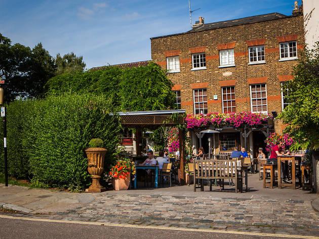 The Flask pub
