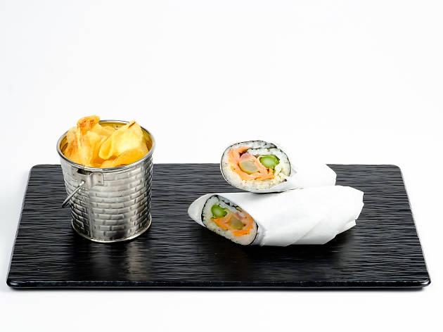 Burrito de sushi