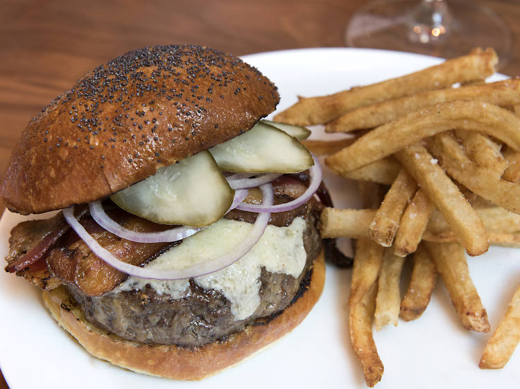 The 19th Street Burger at Union Square Cafe