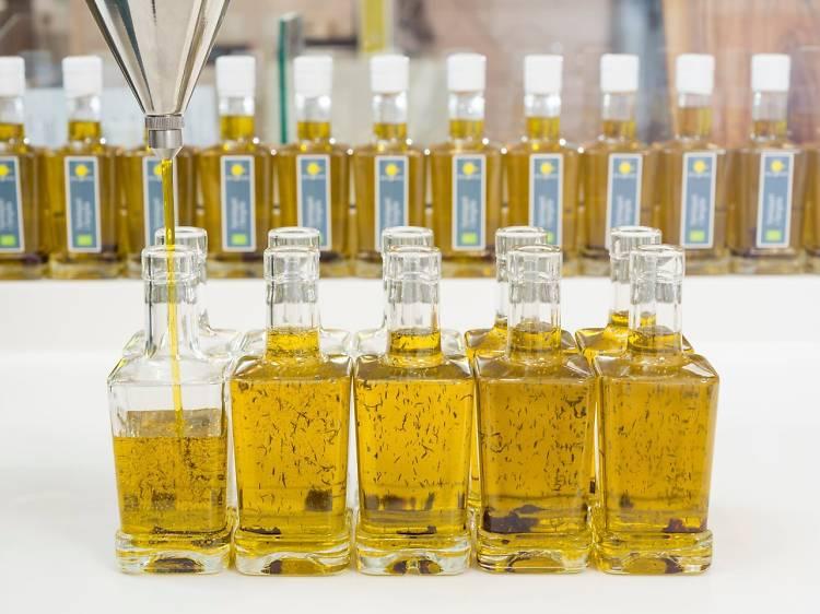 Cata de aceites