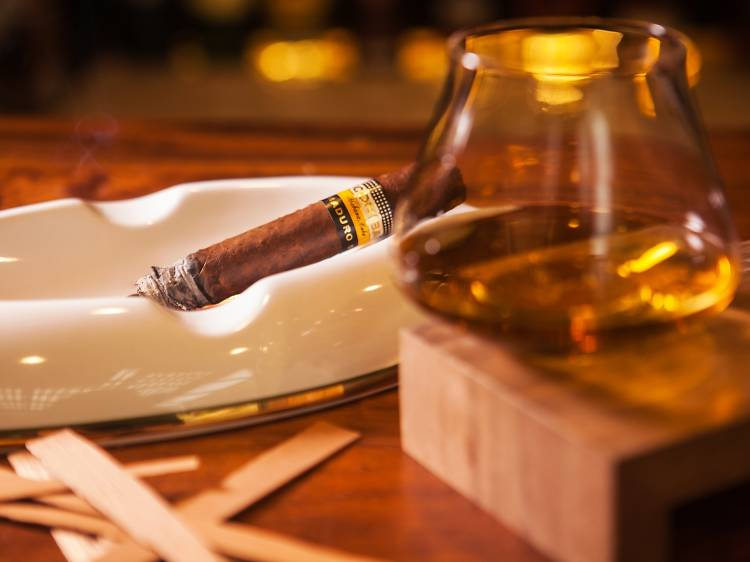 Enter the twilight zone of rum and cigars