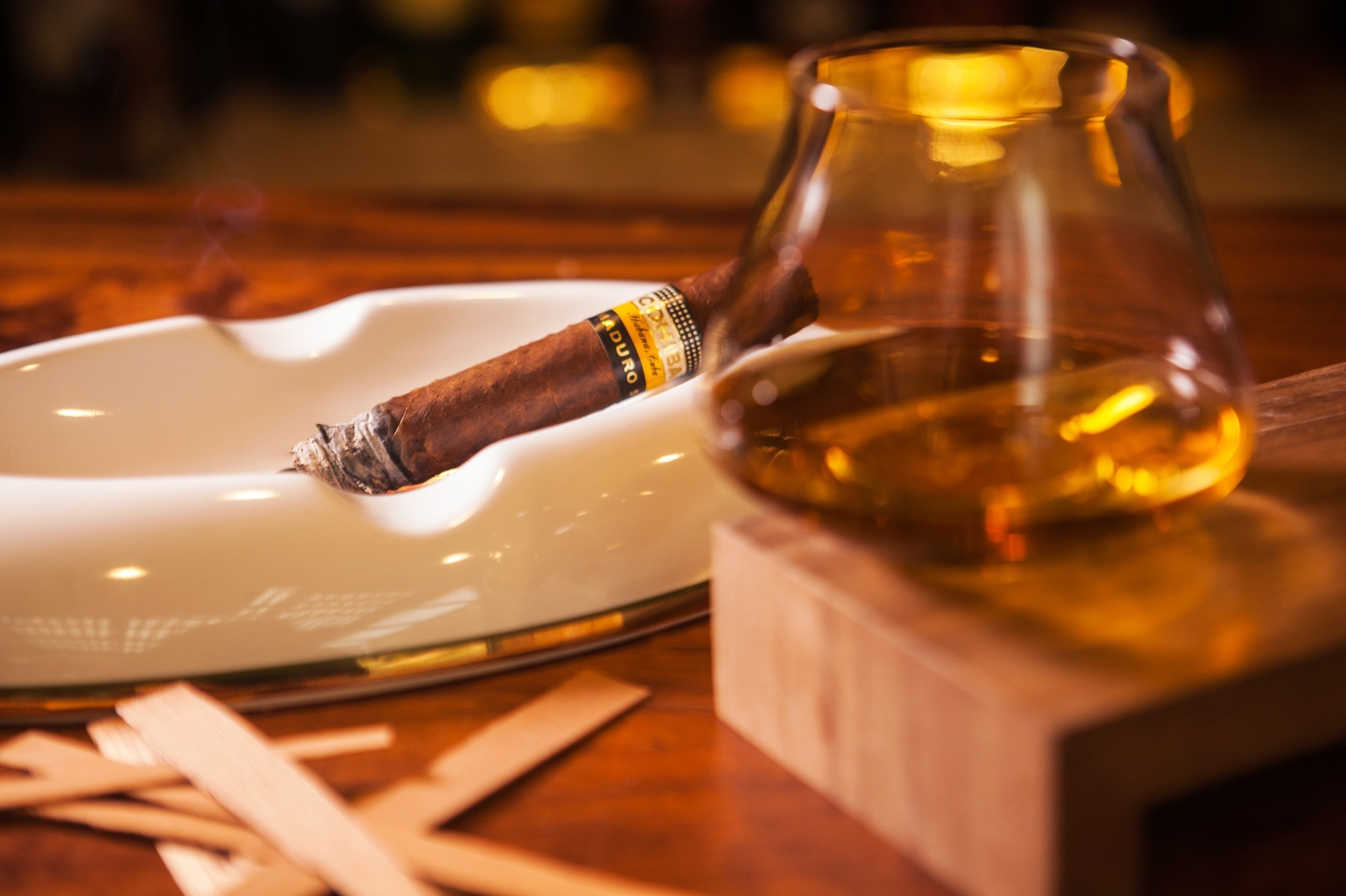 Cigar Bar en la CDMX