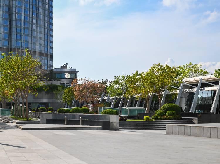 IFC Rooftop Garden, Central