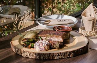 Primal modern steak grill
